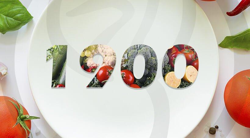 Imagem Dieta com 1900 Calorias